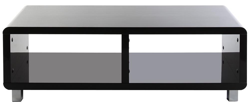 Mobile TV design laccato nero PIXY