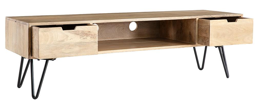 Mobile TV design mango piede in metallo VIBES