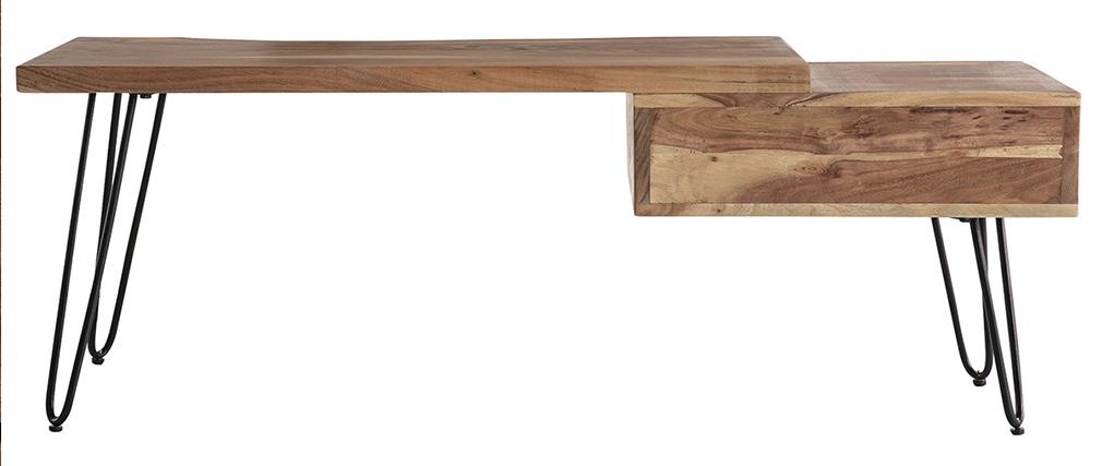 mobile TV in legno d