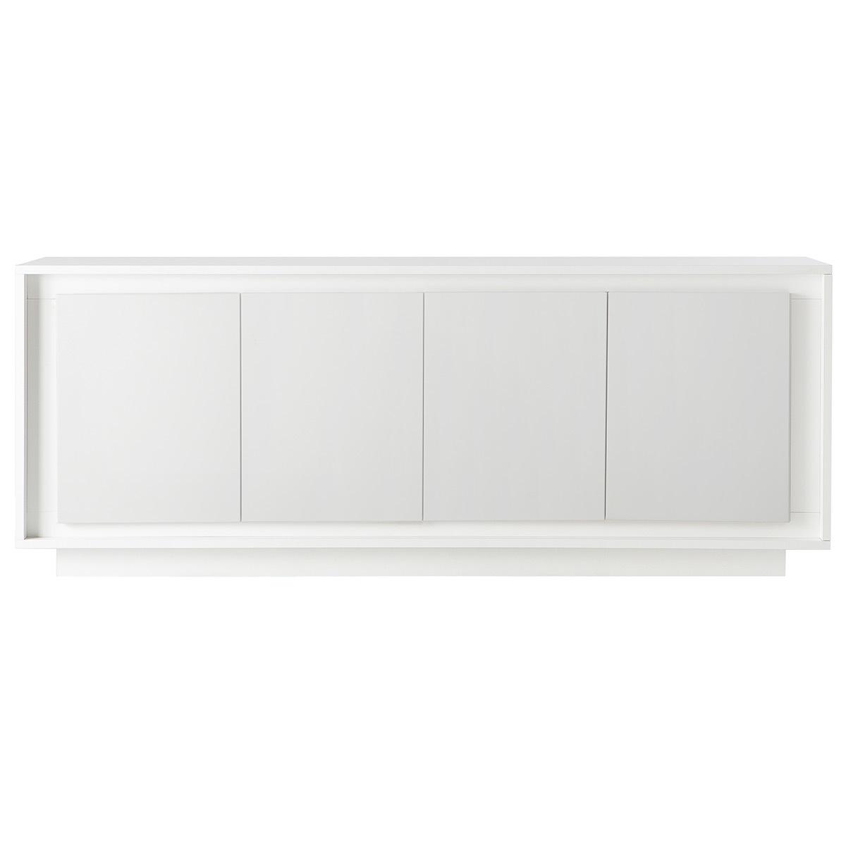 Mobiletto buffet 4 ante design Bianco LAND