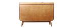 Mobiletto buffet vintage in legno noce HALLEN