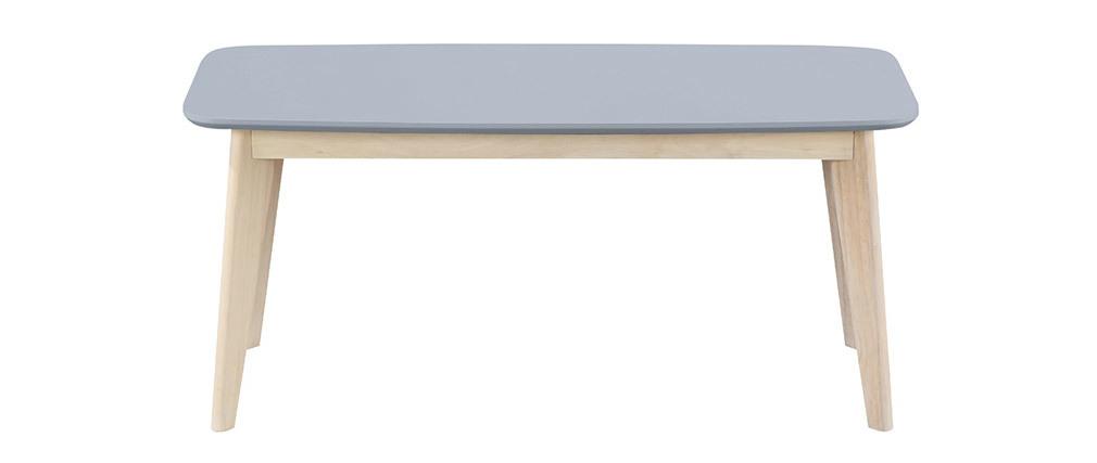Panca design 100 cm Grigio chiaro LEENA