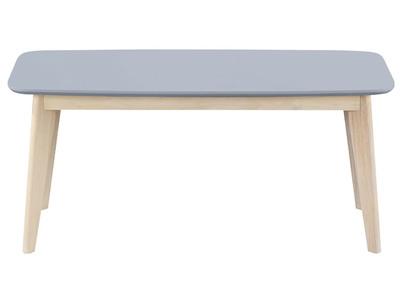 Panca di design, 100 cm, colore: Grigio chiaro, modello: LEENA