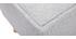 Panca fondo letto in tessuto grigio chiaro SUKA
