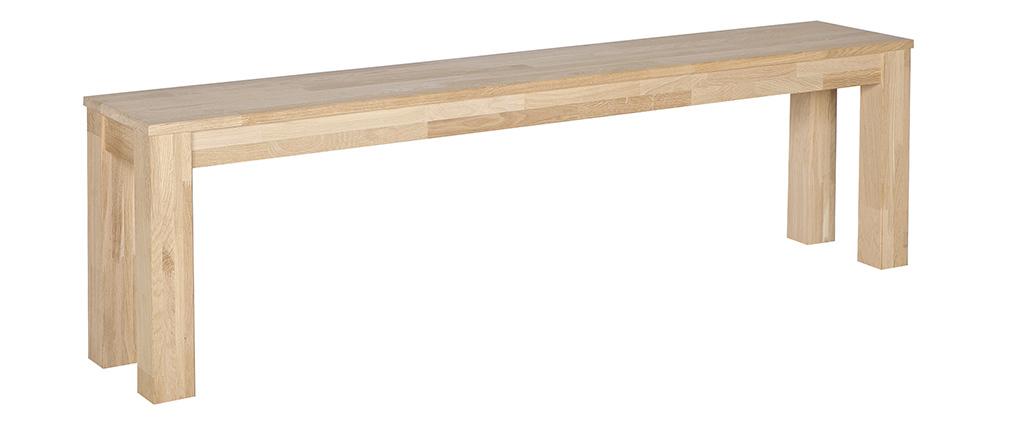 Panca in quercia 160cm LUPA