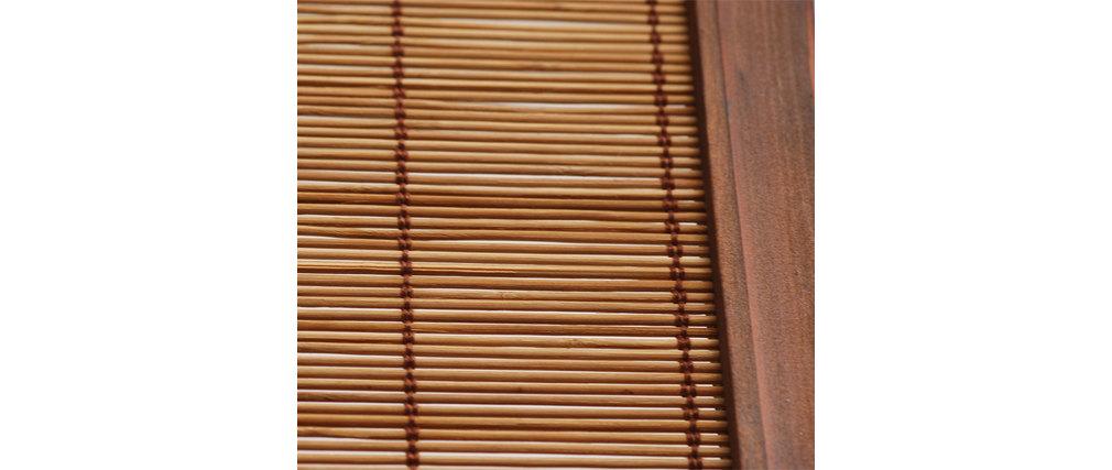 Paravento 3 pannelli NIHA in abete e bambù