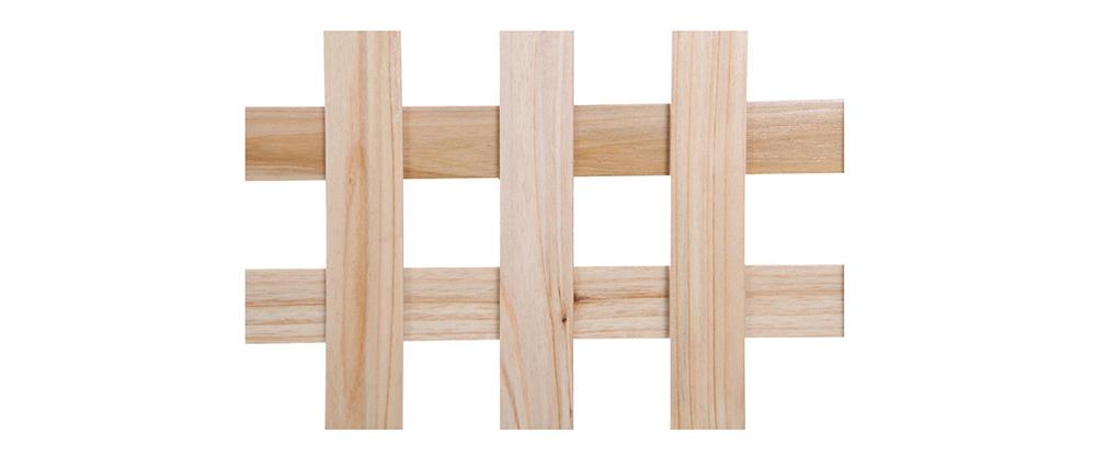 Paravento in legno naturale AKKIKO