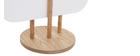Paravento scandinavo-giapponese in legno colore Bianco JAPANSK