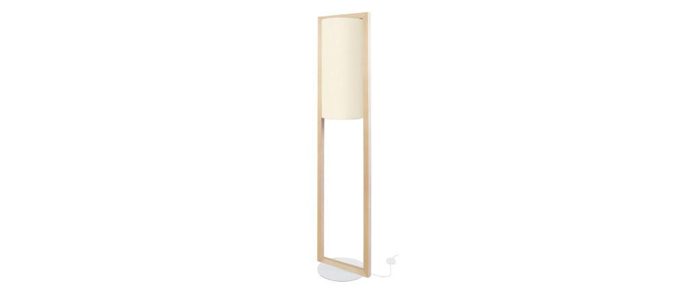 Piantana di design in legno H165 cm HATHA
