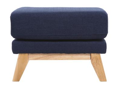 Poggiapiedi scandinavo, colore: Blu scuro, modello: OSLO