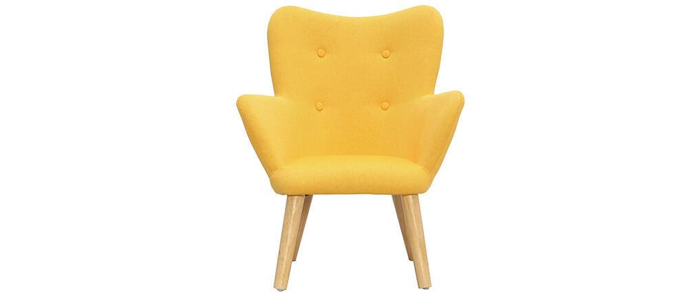 Poltrona bambino design giallo BABY BRISTOL