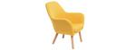 Poltrona bambino design giallo BABY MIRA