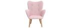 Poltrona bambino design rosa BABY BRISTOL