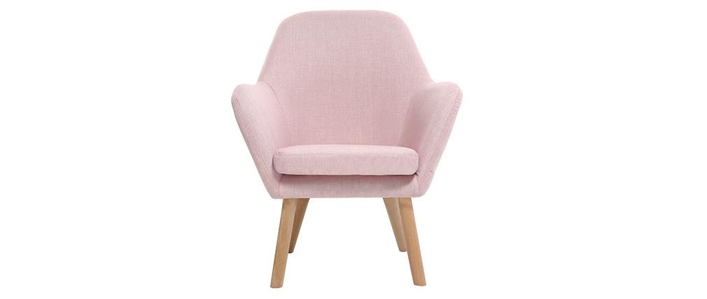 Poltrona bambino design rosa BABY MIRA