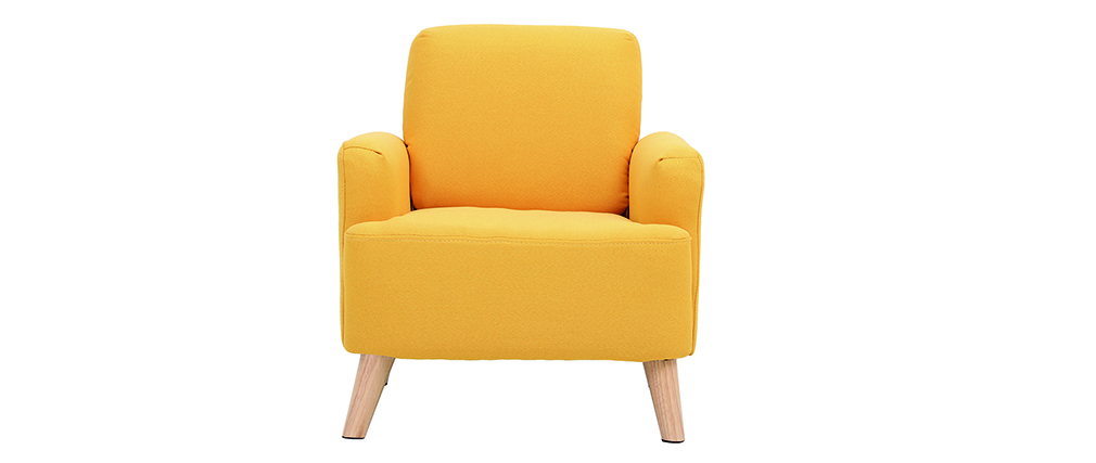 Poltrona bambino scandinavo giallo BABY ISKO