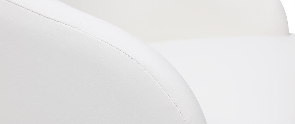 Poltrona da ufficio design bianca SCARLETT
