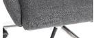 Poltrona da ufficio design grigio antracite YLA