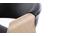 Poltrona da ufficio design in poliuretano Nero / Legno chiaro ARAMIS