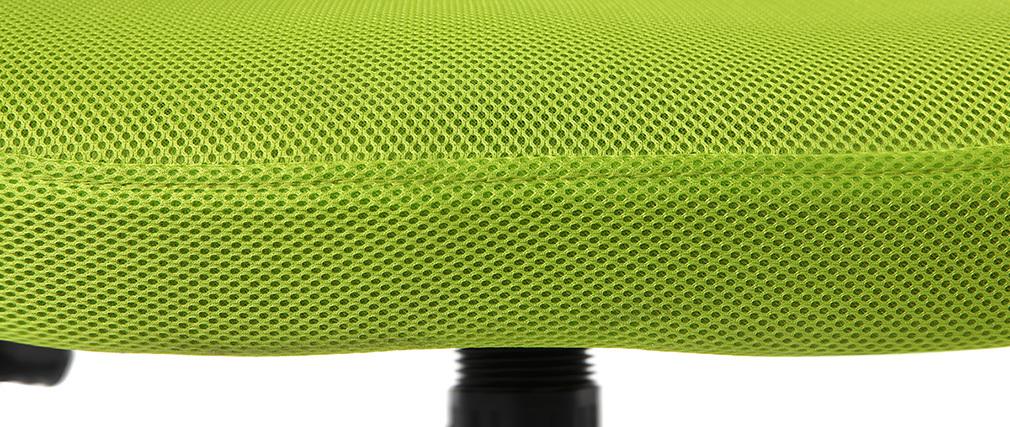 Poltrona da ufficio design mesh verde JUNIO