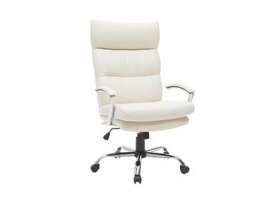 Poltrona Design Prezzi Bassi.Poltrona Da Ufficio Design Pelle Bianco Tilio