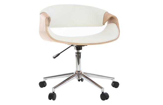 Poltrona Ufficio Bianco : Poltrona da ufficio di design in poliuretano colore: bianco