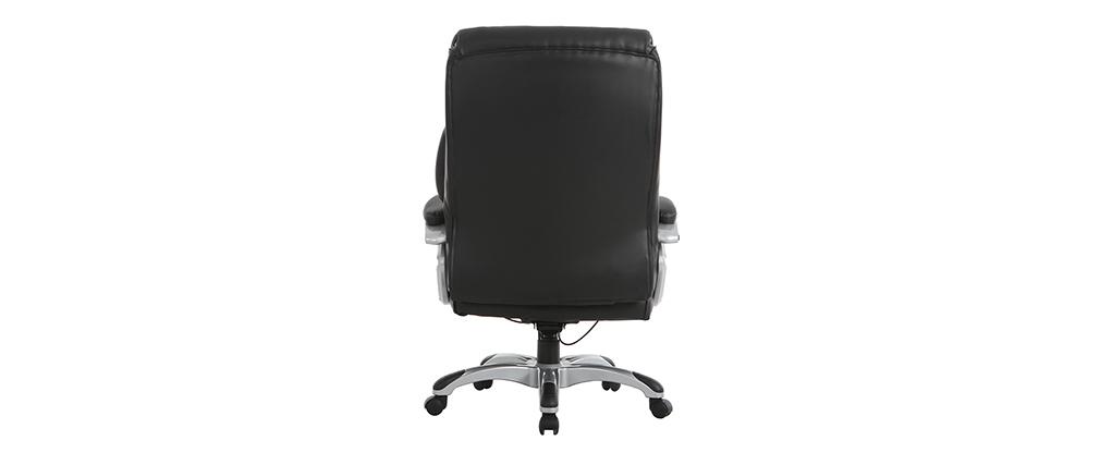 Poltrona da ufficio ergonomica e design nero MAGIST