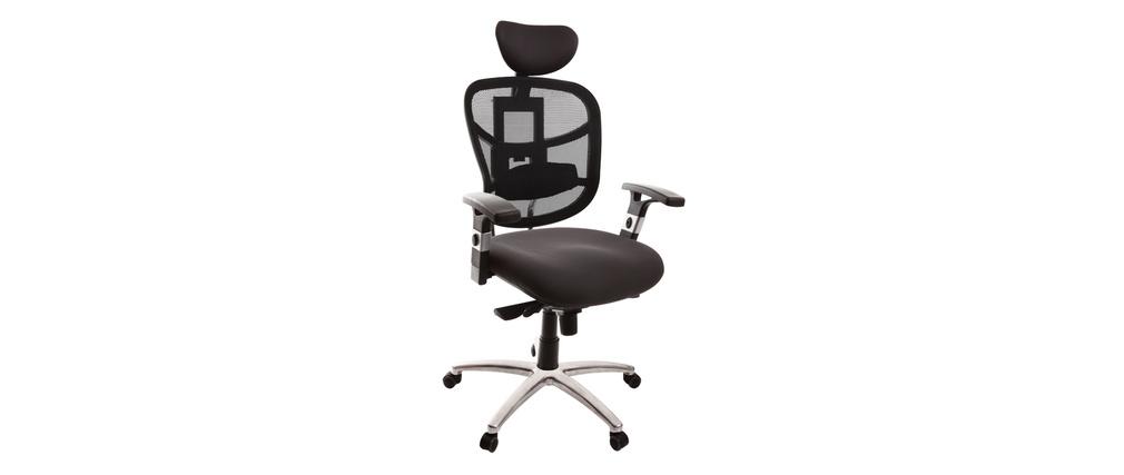 Poltrona da ufficio ergonomica grigio UP TO YOU