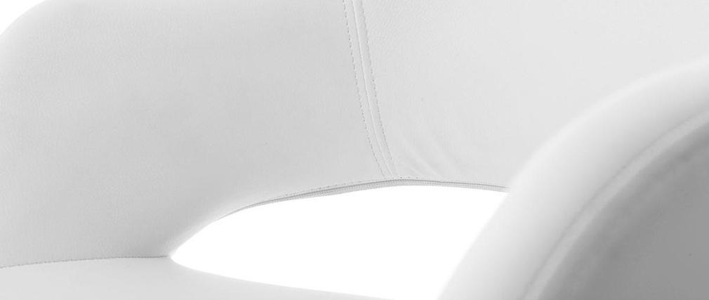 Poltrona design bianca JESSY