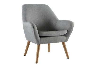 Poltrona design colore grigio MIRA