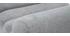 Poltrona design effetto velluto grigio e metallo nero TAYLOR