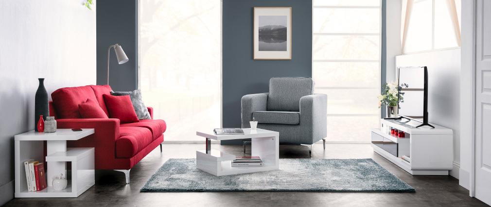 Poltrona design Grigio chiaro HARRY