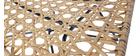 Poltrona design rattan sintetica interno / esterno SUNSET