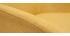 Poltrona in tessuto effetto velluto giallo senape MAYNE