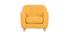 Poltrona per bambino scandinavo giallo NORKID