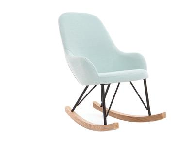 Divanetti poltroncine e sedie per bambini online miliboo for Sedia a dondolo verde