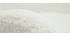 Poltrona scandinava in tessuto bianco con lana effetto riccia e legno ESKUA