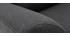 Poltrona scandinava in tessuto Grigio antracite ALICE