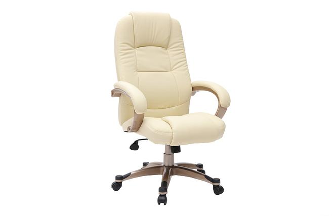 Sedie Ufficio Como : Poltrona sedia da ufficio toronto colore avorio miliboo