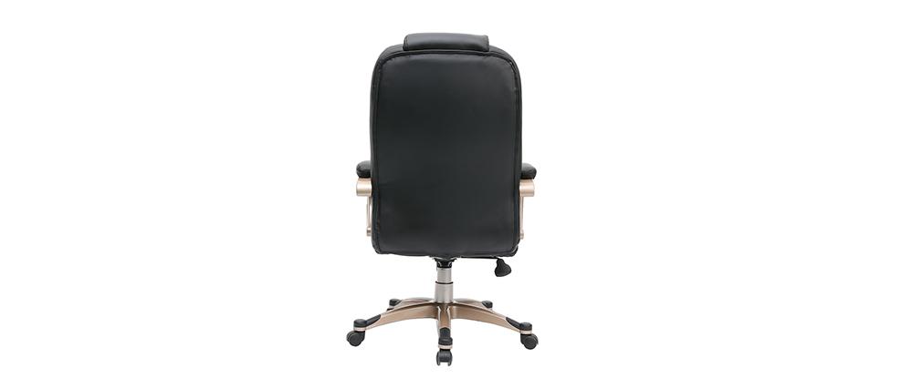 Poltrona / sedia da ufficio TORONTO colore nero