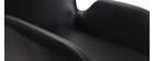 Poltrone vintage con piedi in metallo neri (lotto di 2) TIKA