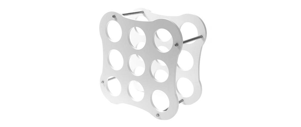 Portabottiglie design bianco CAHORS