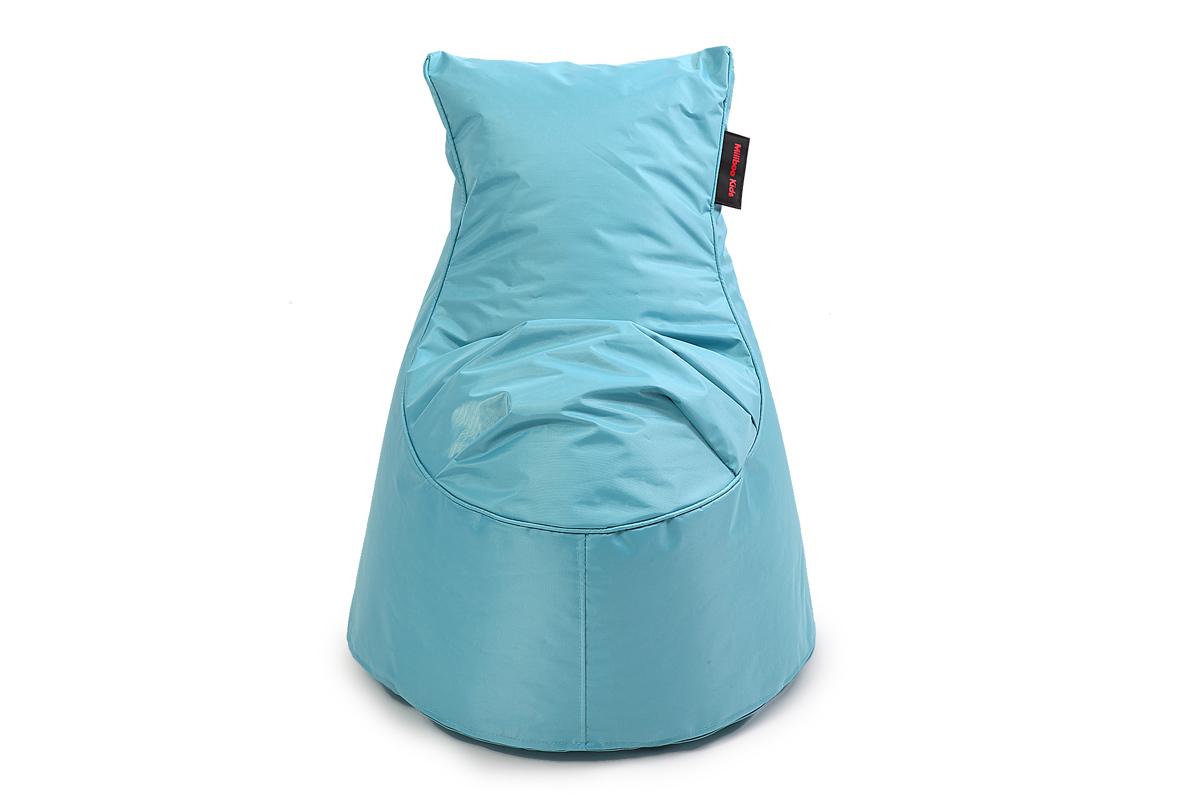 Pouf design cotone blu MILIBABY