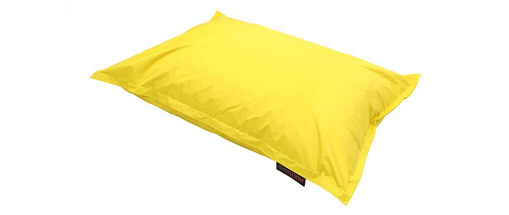 Pouf gigante design cotone colore giallo BIG MILIBAG