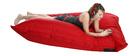 Pouf gigante design rosso BIG MILIBAG