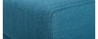 Pouf / poggiapiedi tessuto blu ULLA