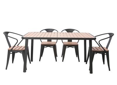 Tavoli E Sedie Da Giardino In Metallo.Salotto Da Giardino E Mobilio Miliboo