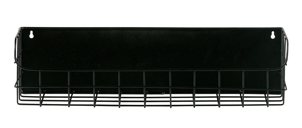 Scaffale da parete in metallo Nero 50 cm MANUFACTURE