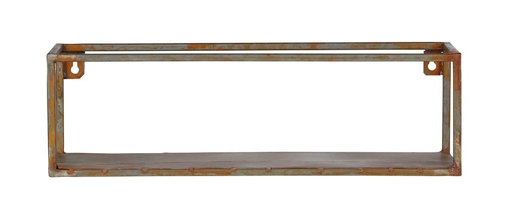 Scaffale da parete in metallo Ruggine 50cm MOHO