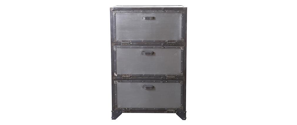 Scarpiera / cassettiera industriale metallo FACTORY