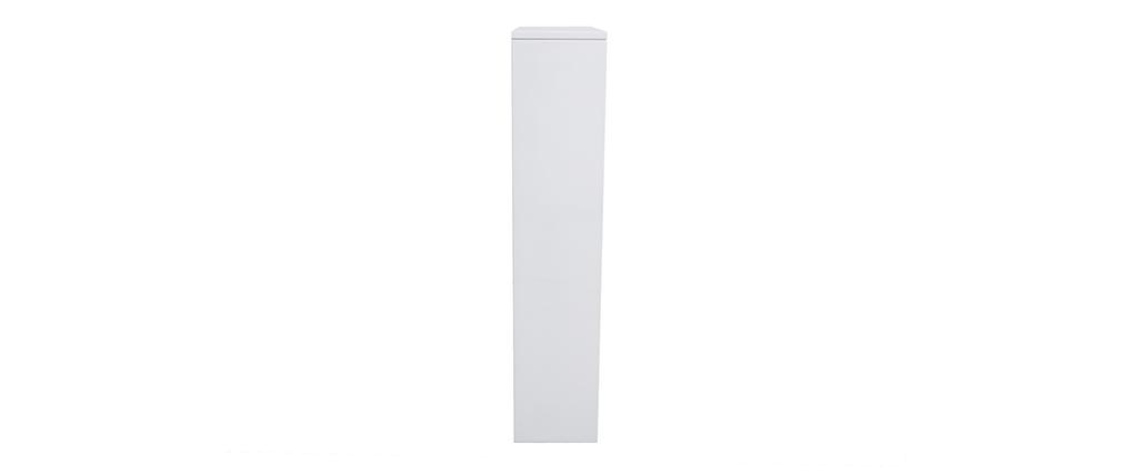 Scarpiera design laccata bianca DEVA